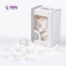 Cup silicon White (soft) 12mm 60pcs